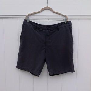 RVCA 4 way stretch men's shorts sz 36